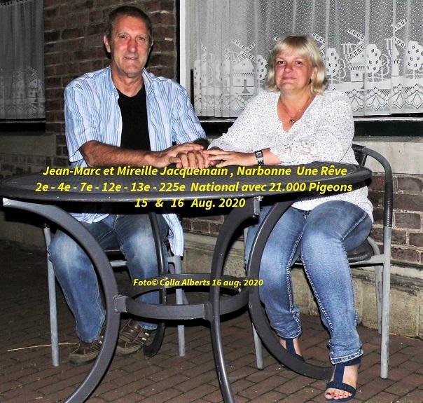 Jean marc et mireille jacquemain 16 aug 2020 15