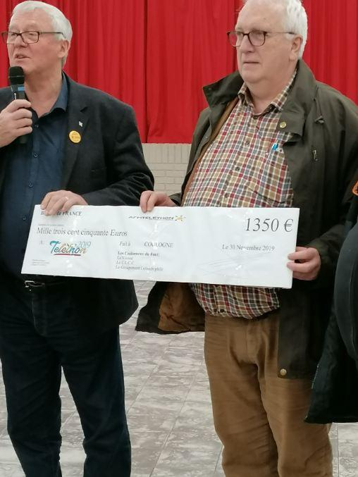 Remise cheque 2019